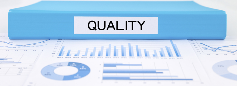 Quality management plan with, graphs, charts and business evalua