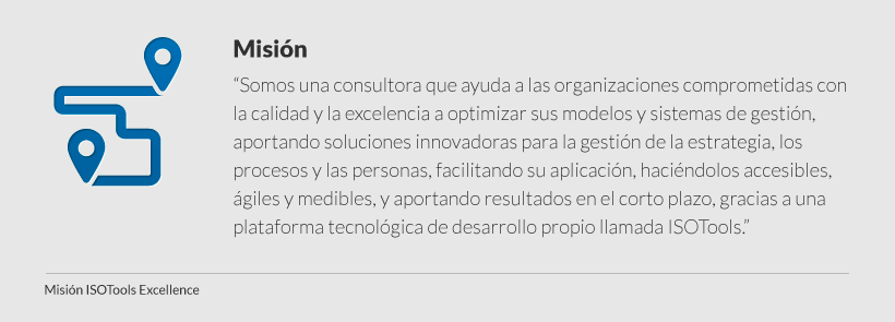 mision isotools excellence
